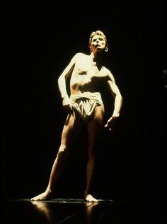1979 - David Bowie as John Merrick in the play The Elephant Man (by Bernard Pomerance, directed by Jack Hofsiss in Broadway) 70s.