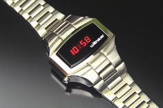 Wittnauer Polara Led Watch, Wristwatches, Digital Watch, Old And New, Clocks, Retro, Gallery, Classic, Vintage
