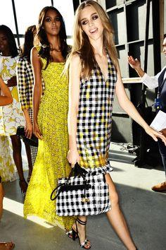 Diane Von Furstenberg SS15 Fashion Show New York Backstage | Sonny Vandevelde
