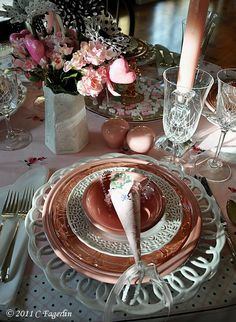 tablescapes | Tablescapes / Valentine Tablescape
