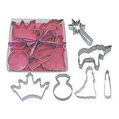 princess cookie cutters - including a unicorn
