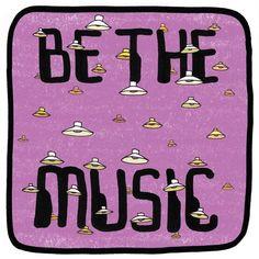 Mr. Scruff — 'Be The Music'  ZENDNLS329  One of my favorite ninja's