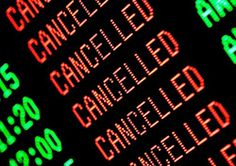 Canceled Flight? What to Do When Bad Weather Strikes (SmarterTravel.com 01.24.12 & 10.29.12 emails)