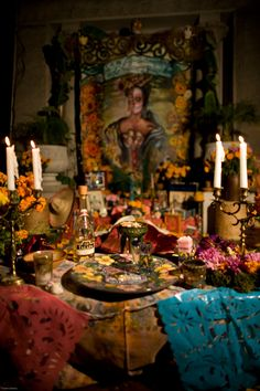 Hollywood Forever Cemetery altar 2011.... do the big show here with my jewelry!!