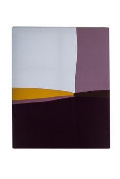 Palette 012, 130 x 162 x 2.7cm, fabric on canvas, 2014© Yunji Jang
