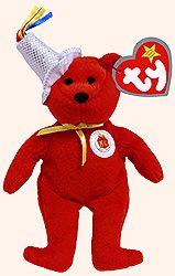 78fa3ae7e1c Happy Meal 25th Bear - Ty Teenie Beanie Babies - McDonalds promotion USA 2004  Beanie Bears