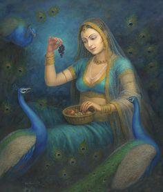 devi Kumari paramatma, the Gracious Lady, and her sacred steeds.