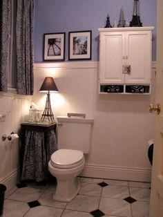 80 best paris theme bathroom images bricolage manualidades crafts rh pinterest com Paris Themed Bathroom Ideas Paris Inspired Bedrooms