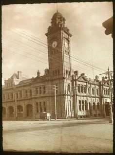 G.P.O. in Hobart,Tasmania in 1928. 🌹