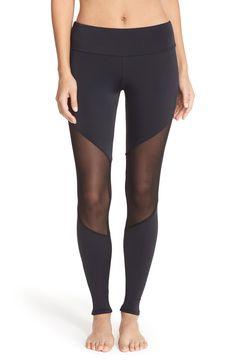 495736a51cd Onzie Colorblock Track Leggings Tie Up Leggings
