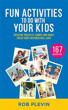 Now on Kindle  If you always feel stuck for ways to entertain your children appropriately – and are desperate for an alternative to screen time and television – these activities and projects are for you!