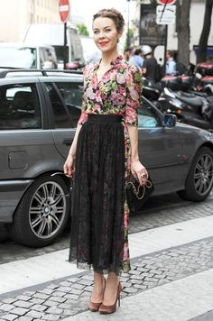 Celebrity street style at Paris Haute Couture Week - Photo 18 | Celebrity news in hellomagazine.com