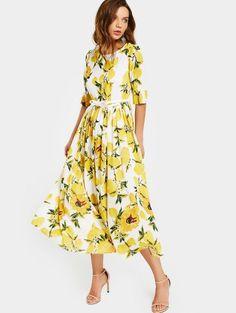 GET $50 NOW | Join Zaful: Get YOUR $50 NOW!http://m.zaful.com/lemon-print-belted-dress-p_304234.html?seid=701djlf68oa5ekll7i90ihfus5zf304234