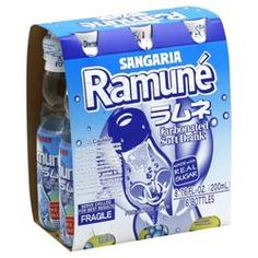 Sangaria Ramune Soda, 6...