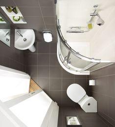 Ideal Standard Concept Space cloakroom corner suite with full pedestal basin 450mm