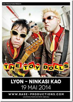 THE TOY DOLLS/ concert à Lyon le 19 mai 2014/ Ninkasi Kao  http://www.youtube.com/watch?v=ABICQkjhF-4