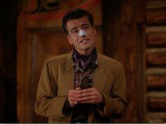Ian Buchanan in Twin Peaks - variations on relations