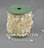 Free Shipping 60Meters/Roll Ivory Pearl and five-pointed star String Garland for Wedding Party Gift Decoration Christmas Blue Wedding Decorations, Diy Party Decorations, Christmas Decorations, Pearl Garland, Five Pointed Star, Butterfly Wedding, Ivory Pearl, Gifts For Wedding Party, Party Supplies