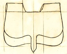 Medieval Accessories- Leather Kidney Pouch