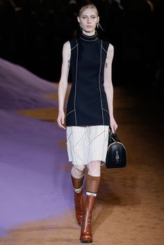 Prada Spring 2015 Ready-to-Wear Fashion Show - Julia Nobis