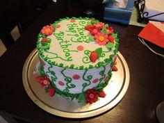My Niece's first birthday cake