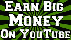 How To Earn Big Money On YouTube Within A Week  http://101geek.com/earn-money-on-youtube/