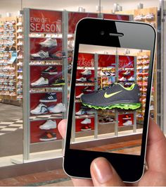 AR retail experience. Emily Baldwin | Future of Possible