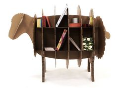 Transformers: Cardboard That Turned Into a Bicycle, TV Stand, Bench, and Shelving