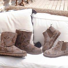 Men's Camo print boots by BEARPAW