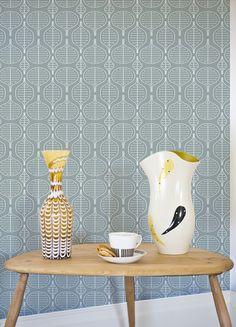 layla faye little leaves wallpaper