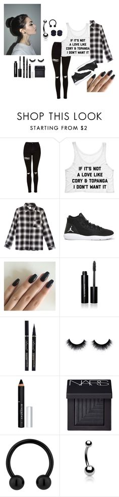 """~PERFECTION :]"" by keaira13 ❤ liked on Polyvore featuring Topshop, RVCA, NIKE, Bobbi Brown Cosmetics, Givenchy, NARS Cosmetics and Bling Jewelry"