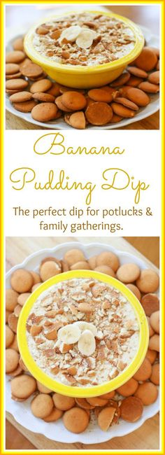 Everyone loves a good Banana Pudding so why not make it into a dip? This Banana Pudding is sweet easy and delicious. It makes the perfect dip for your parties potlucks and family gatherings. Dessert Simple, Dessert Dips, Dessert Recipes, Trifle Desserts, Pudding Desserts, Pudding Recipes, Recipes Dinner, Casserole Recipes, Breakfast Recipes