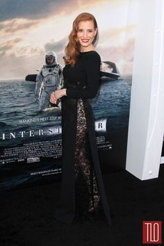 Jessica-Chastain in Givenchy