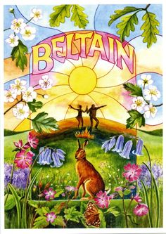Beltain Card by Samantha Symonds