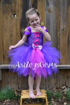Vestido de Rapunzel disfraz de Rapunzel vestido por AshleysGemsShop