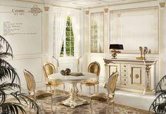 Luxusní rustikální jídelna od Angelo Cappellini http://www.saloncardinal.com/galerie-angelo-cappellini-0d2