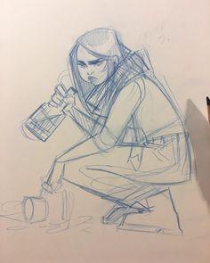 Jessica Jones messy doodle #sweeneyboo #sketch #jessicajones