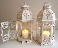 61 pinterest candle rh pinterest com shabby chic lanterns uk shabby chic lantern centerpieces