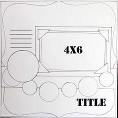 Sketches on scrapbooksteals.com