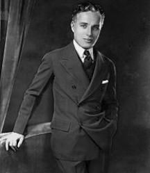 Charles Chaplin - one of our favorites of his is The Great Dictator.