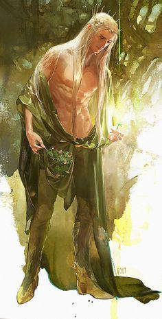 elf fairest woodblood woodwalker fae faery changeling the lost fantasy male art