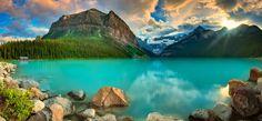 Lake Louise by Ryan Engstrom, via 500px