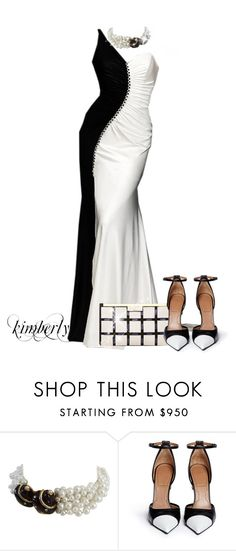 """""""Gowns"""" by cavell ❤ liked on Polyvore featuring Saks Fifth Avenue, Marni and Givenchy"""