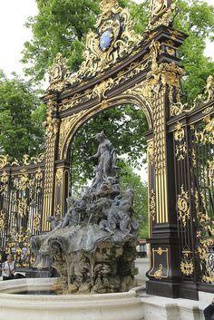.Nancy Place Stanislas Fontaine d'Amphitrite