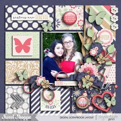 Layout by catgoddess Hey Sister by Tickled Pink Studio http://www.sweetshoppedesigns.com/sw...roductid=30199 Friendship Cards by Tickled Pink Studio http://www.sweetshoppedesigns.com/sw...roductid=30200 EZ Albums v.8 by Erica Zane http://www.sweetshoppedesigns.com/sw...roductid=30156