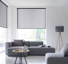 Modern Roller Shades Curtains With Blinds House Blinds