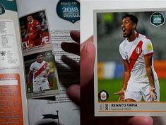Selección Peruana presente en el álbum Panini Road to ... Champions League, Russia, Baseball Cards, Sports, Gift, Hs Sports, Sport