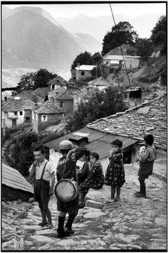 Henri Cartier-Bresson/GREECE. Epirus. 1961.