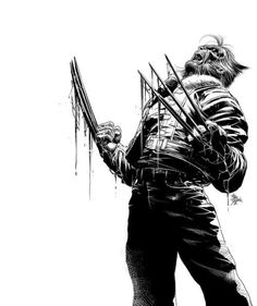 Old Man Logan by Mike Deodato Spawn Marvel, Hq Marvel, Marvel Dc Comics, Marvel Heroes, Comic Book Characters, Marvel Characters, Comic Character, Comic Books Art, Comic Art