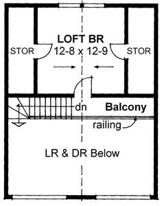Cabin Contemporary Level Two of Plan 99953